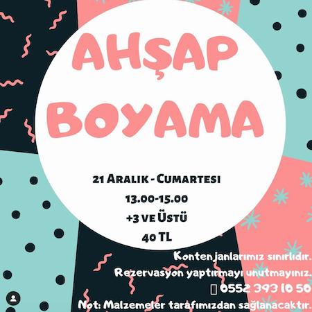 Ahsap Boyama Atolyesi Adana Da Cocuk Olmak
